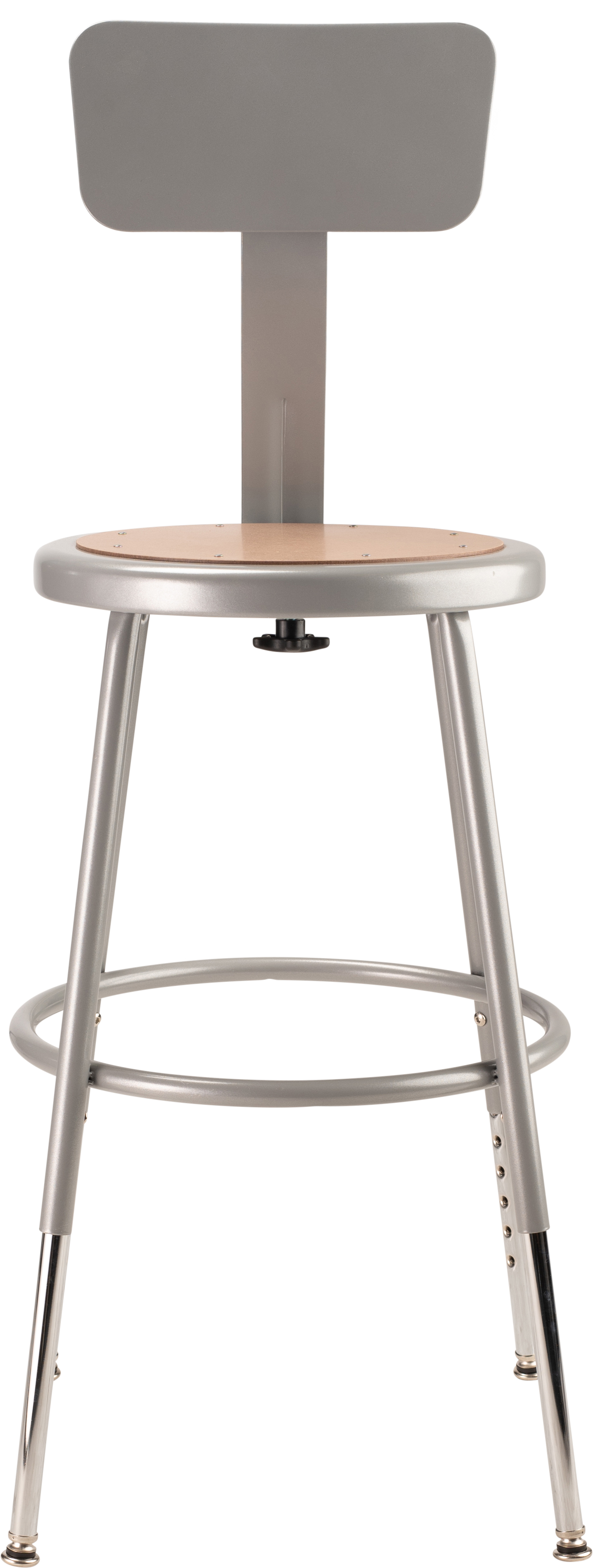 National Public Seating 6218HB Stools 19-27 Grey